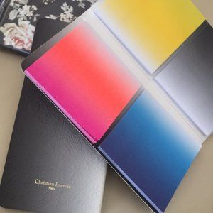 Christian LaCroix Paris Ombré Sticky Note Folio x2